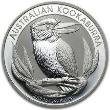 2012 Australia 1 oz Perth .999 Silver Kookaburra (from mint roll)