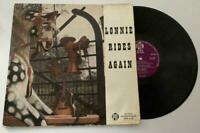 Lonnie Donegan Lonnie Rides Again 1959 Vinyl Album Record Disc LP