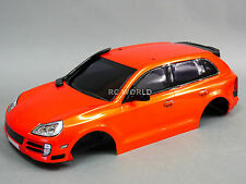 1/10 Car RC BODY Shell PORSCHE CAYMAN CAYENNE SUV 190mm  *FINISHED* ORANGE