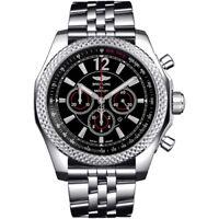 Breitling Mens A4139024-BB82-984A Bentley Barnato Black Dial Chronograph Watch