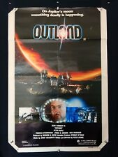 OUTLAND - SEAN CONNERY ORIGINAL AUSTRALIAN ONE SHEET MOVIE POSTER