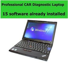 Laptop Diagnostico Professionale 15 programmi Auto + auto/camion diagnostica Scanner