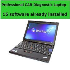 Laptop de diagnóstico profesional 15 programas de Coche + coches/camiones Diagnóstico Escáner