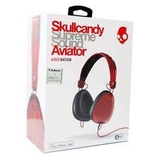 Skullcandy Aviator RocNation headphones BNIB Red rrp$250 Take/Make phone calls