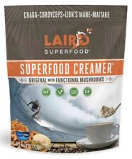 Laird Superfood 8 oz Coffee Tea Creamer w/Functional Mushrooms Vegan DF GF Paleo
