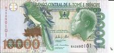 SAINT THOMAS-SAO TOME 10000 DOBRAS 2013. UNCIRCULATED. 3RW 30 NOV