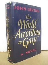 The World According to Garp by John Irving 1978 HB/DJ First Printing