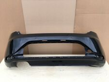 SEAT LEON FR 2013-2016 REAR BUMPER IN BLACK GENUINE [Z91]