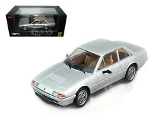 FERRARI 412 ELITE EDITION SILVER 1/43 DIECAST MODEL CAR BY HOTWHEELS N5597