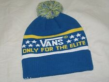 325d095d51 BNWT - VANS Elite Bobble Beanie Hat French Blue