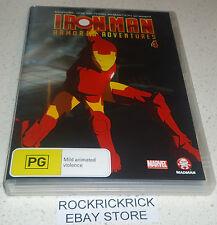 IRON MAN ARMORED ADVENTURES - VOL 4 (4 EPISODES) DVD