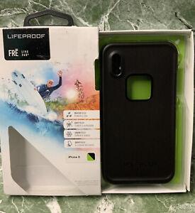 ⚡️LIFEPROOF Fre LIVE 360 Waterproof Case iPhone X Black Lime Green Night Lite