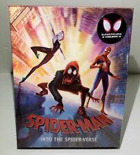SPIDER-MAN INTO THE SPIDER VERSE [4K UHD+BONUS] BLU-RAY STEELBOOK [BLUFANS]