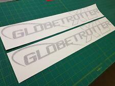 Volvo 460 FH13 XL Globetrotter Lateral Techo 1100mm 2X Pegatinas Todos los