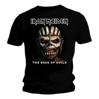 Mens Iron Maiden The Book of Souls Black T-Shirt - Unisex Crew Neck Tee