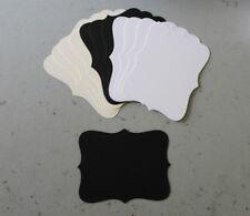 Stampin' Up! Very Vanilla/Whisper White/Basic Black Top Note Die Cuts 12