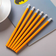 6pcs Pencil HB School Novelty Writing Wooden Pencil Kids Students Supplies Gift