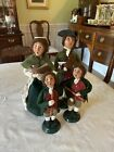 Byers Choice Colonial Williamsburg Carolers- Family Of 4