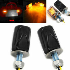 2x New 6LED Motorcycle Mini Turn Signal Light Blinker Indicator Lamp Amber Hot