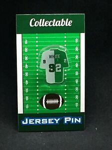 Philadelphia Eagles Reggie White jersey lapel pin-Classic Retro Collectable