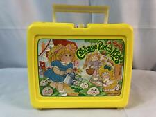 Cabbage Patch Kids Thermos Brand Yellow LunchBox 1983