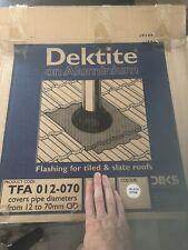 Dektite On Aluminium- 12-70mm . Flashing For Tiled And Slate Roofs