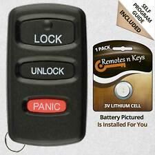 2x Car Transmitter Alarm Remote Control for 1999 2000 2001 Mitsubishi Galant 3b