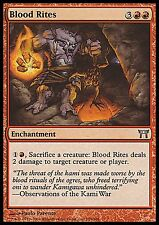 Blood Rites FOIL NM Champions of Kamigawa MTG Red Uncommon