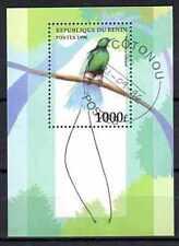 Oiseaux Bénin (2) bloc oblitéré