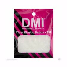 Clear Elastic Bands DMI Elastic Bands for Hair x 250