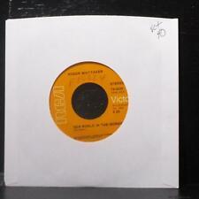 """Roger Whittaker - New World In The Morning 7"""" VG+ Vinyl 45 RCA 74-0320 USA"""