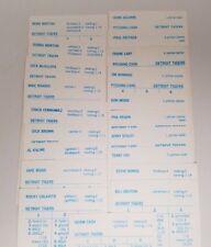 1961 Detroit Tigers Strat-O-Matic Baseball Team 20 Original Player Cards
