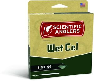Scientific Anglers 112314 WetCel WF 6-S Sinking Fly Line Type IV Weight Forward