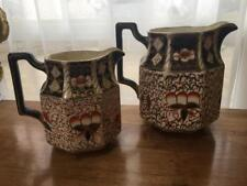 Wade Heath Imari Pitchers TWO Made England EUC No CHips