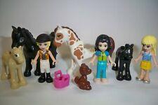 Lego Friends, Figuren, Pferde, Fohlen, 8 Stück (6)**