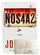 Joe Hill NOS4A2 Signed First Edition book hardcover Very Fine