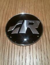 """R"" STEERING WHEEL EMBLEM VW MK4 GOLF R32 MK5 GOLF R32 PASSAT POLO NEW!!"