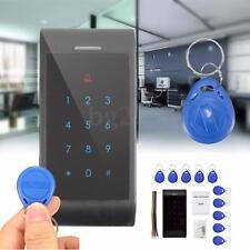 RFID Entry Door Lock Access Control System Password Keypad + 10 ID Card Reader
