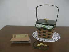 Longaberger 2009 Lucky Wish Irish Basket Combo - Look!