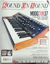 Sound on Sound Nov 2014 MOOG SUB 37 Prism Sound Atlas Technik Versandkostenfrei SB