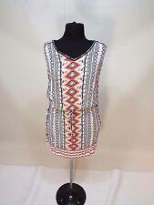 Long shirt Tunic Women Wear Indian print Top dress sz M, size 8 10 NWT free ship