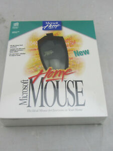Vintage NEW - Microsoft Home Mouse 9-Pin Serial Port NOS Sealed