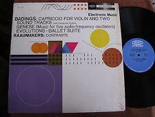 Henk Badings-Dick Raaijmakers/Electronic Music & Violin/Shrink/Epic BC 1118/M-