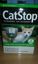 Cat Stop Cat Deterrent Ultra Sonic Cat Dog Fox Pest Repeller Scarer outdoor use