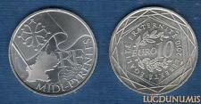 10 Euro Série des Régions 2010 Drapeaux Argent SUP - Picardie