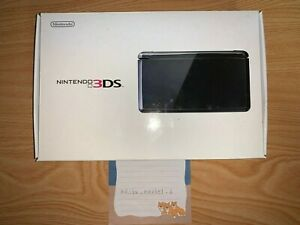 Nintendo 3DS Handheld System - CLEAR BLACK with Box NTSC-J