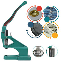 Hand Press Green Machine for Setting Rivets Eyelets DIY Leathercrafts Clothing