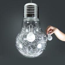 LED Hängelampe 5W Led Hängeleuchte Pendellampe Design Lampe Glas Birne tauschbar