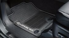 Lexus GX460 (2014-2016) OEM Genuine ALL WEATHER FLOOR MATS (Black) 5 PIECE SET