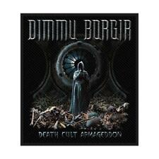 OFFICIAL LICENSED - DIMMU BORGIR - DEATH CULT ARMAGEDDON SEW-ON PATCH METAL